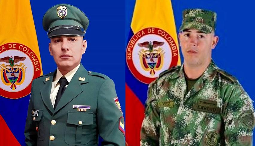 Sargento segundo Fabián Andrés Espitia - soldado profesional Elvis Andrés Flórez.png