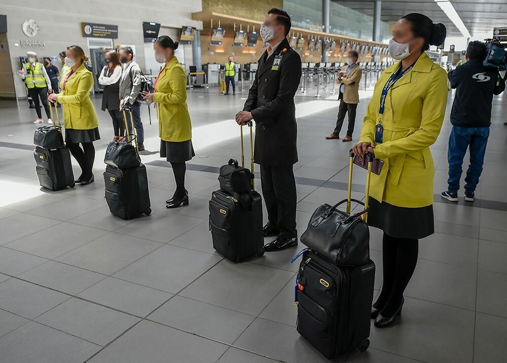 376144_Reactivación del aeropuerto El Dorado // Foto: AFP