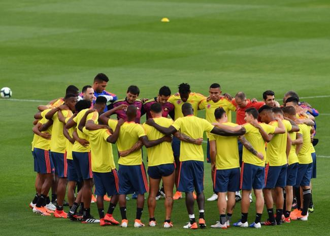 357391_Selección Colombia - AFP