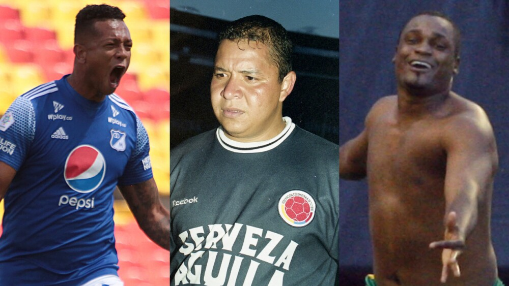 Fredy Guarín, Iván Valenciano y Léider Preciado