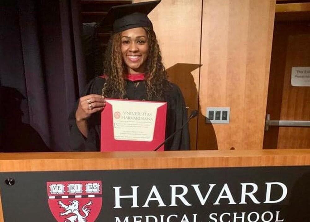 336253_BLU Radio. Gloria Prado Pino, afrocolombiana graduada de maestría en salud pública de Harvard / Foto: Gobernación de Chocó