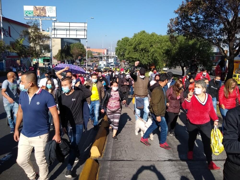Protestas en Suba contra restricciones en UPZ  BLU radio.jpeg