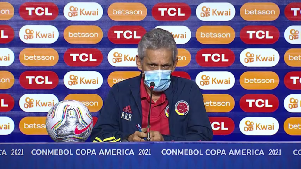 Reinaldo Rueda, previo al partido de Colombia contra Venezuela