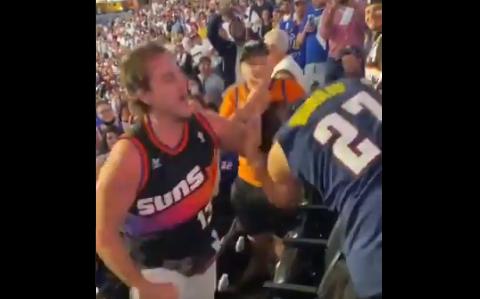Hinchas de los Suns y los Clippers se fueron a los puños en la NBA.
