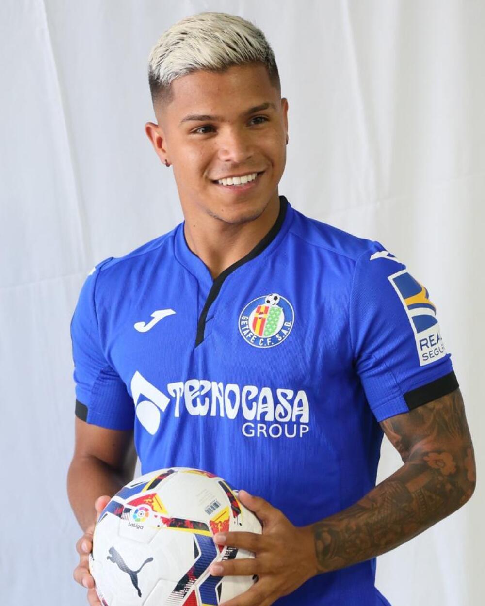 Juan Camilo Hernández, jugador Getafe