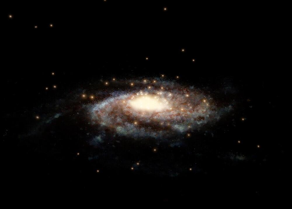 367612_Vía Láctea // Imagen: AFP