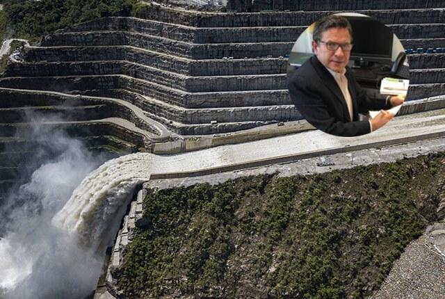 Hidroituango y Álvaro Guillermo Rendón / Fotos: EPM y Linkedin.