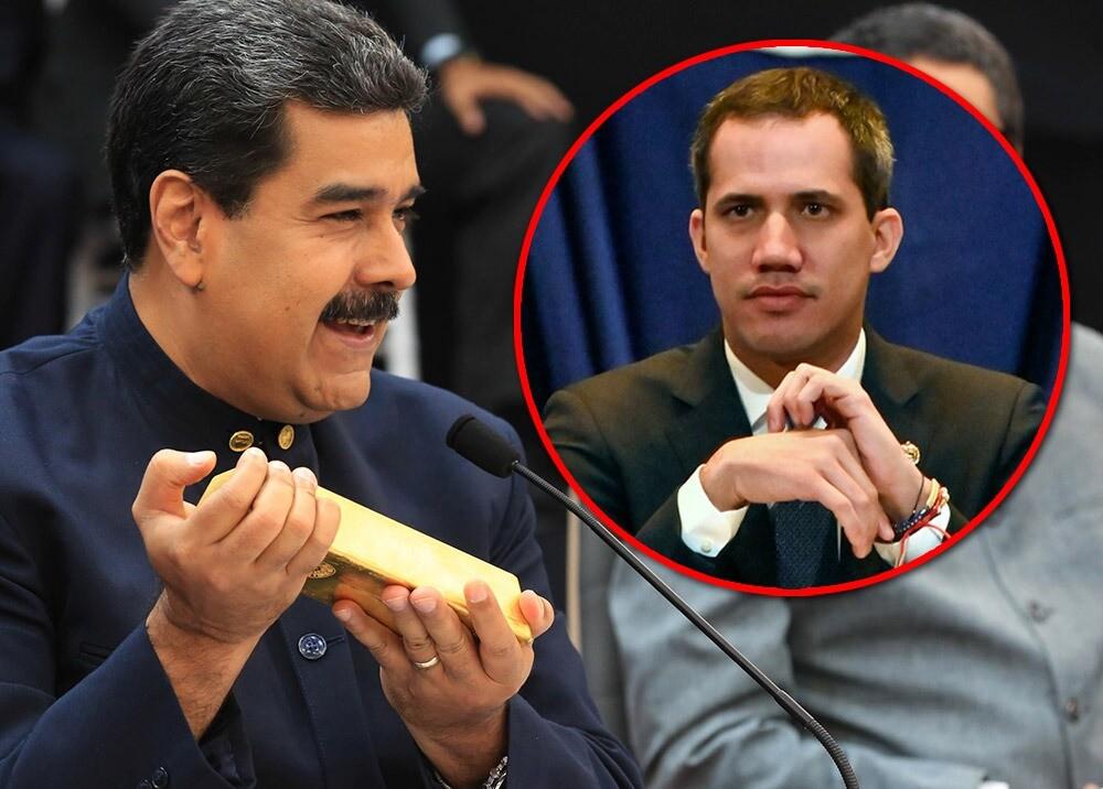 369693_Nicolás Maduro y Juan Guaidó // Fotos: AFP