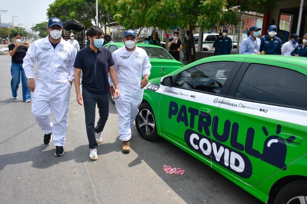 362601_BLU Radio // 'Patrullas COVID' en Barranquilla // Foto: Alcaldía de Barranquilla