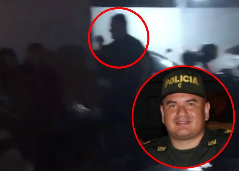 Mayor Óscar Alfonso Chávez Gutiérrez, comandante de la Policía en Puerto Tejada, Cauca