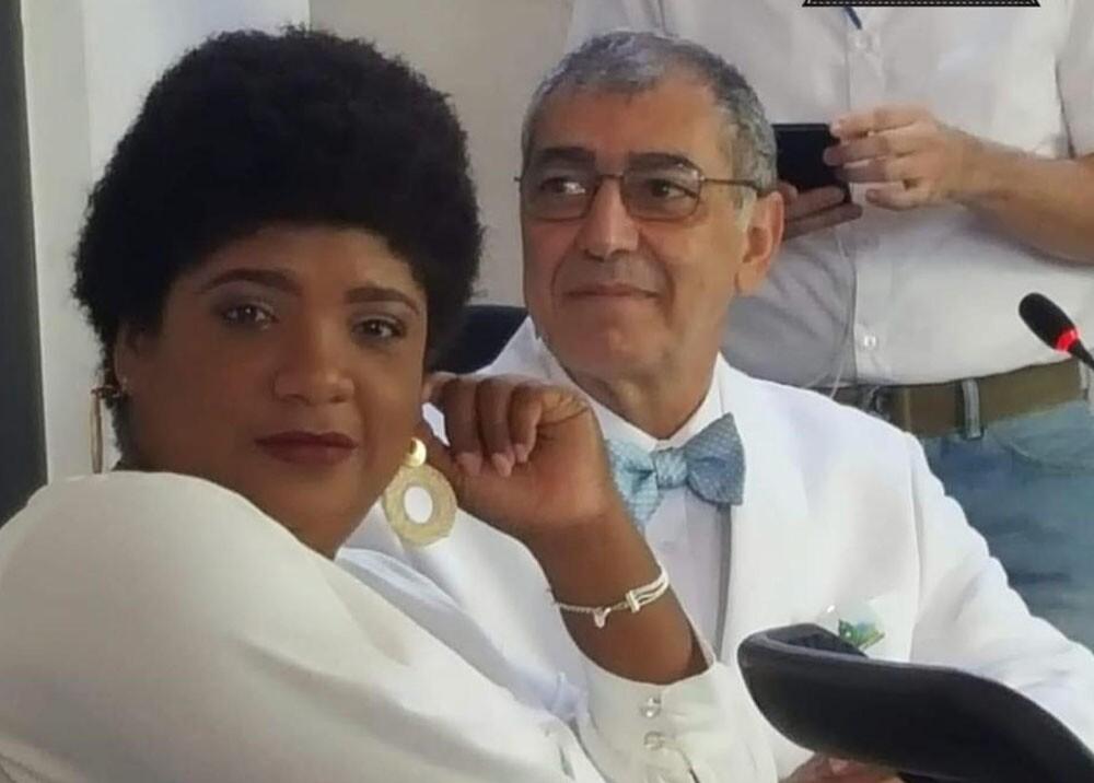 primera dama de cartagena y el alcalde william dau.jpg