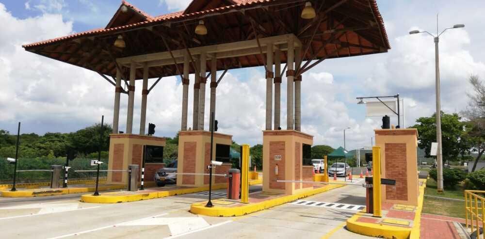 352983_BLU Radio// Peaje en Puerto Colombia. Foto: BLU Radio