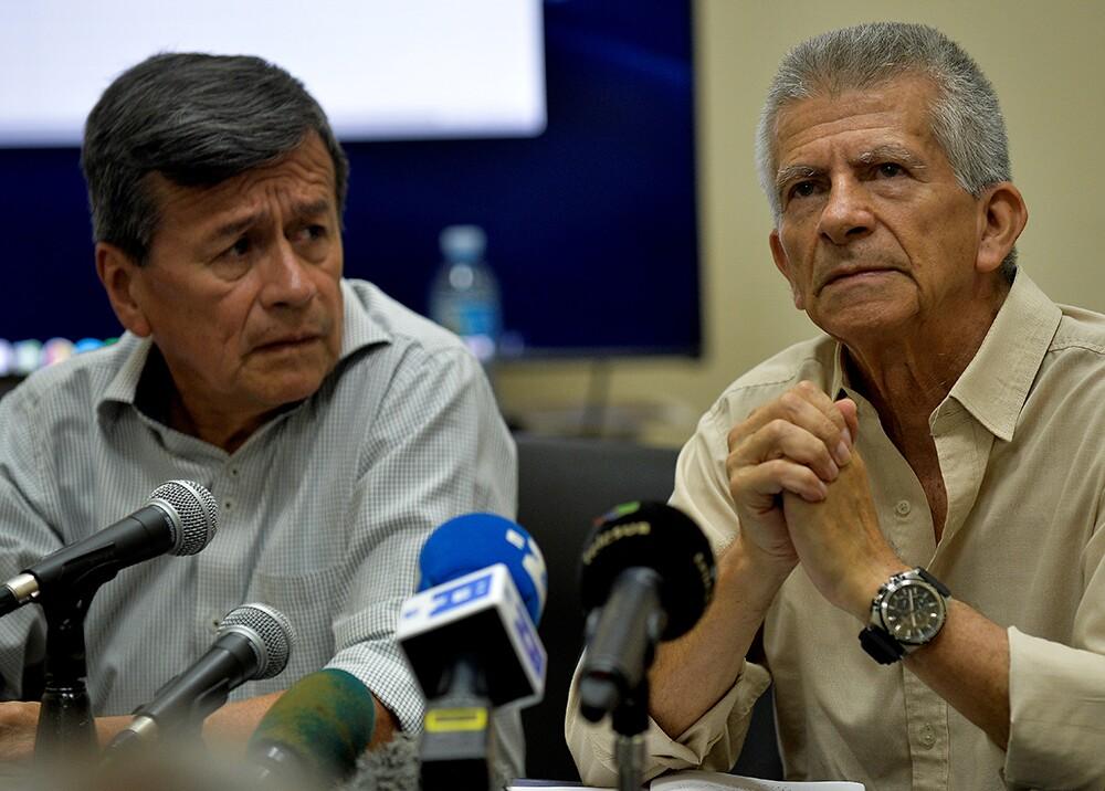Pablo Beltrán y Aureliano Carbonell - Foto: AFP