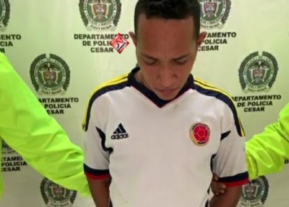 329411_BLU Radio. Presunto responsable de masacre perpetrada en Aguachica/ foto: Policía.