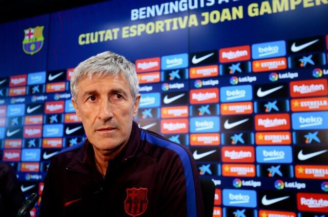 332969_Quique Setién, técnico del Barcelona