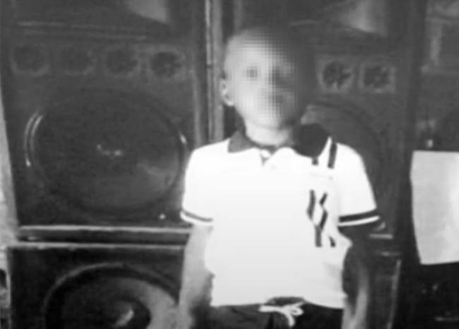 Niño Marlon Cuesta.