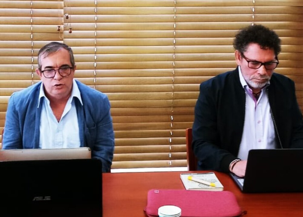 Rodrigo Londoño y Pastor Alape Foto Twitter TimoComunes.jpg