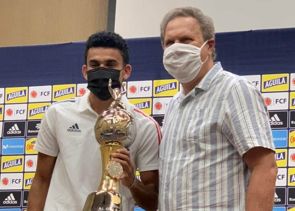 Luis Díaz goleador Copa América Foto suministrada.