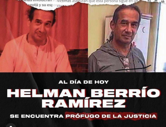 Helman Berrío Ramírez, profesor señalado de abuso a menores de edad