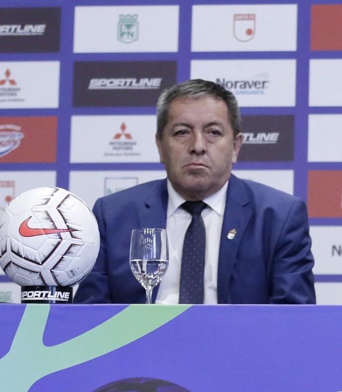 Eduardo Méndez, presidente de Independiente Santa Fe. Colprensa.jpg