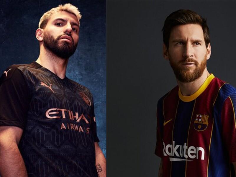 Camisetas Manchester City y Barcelona