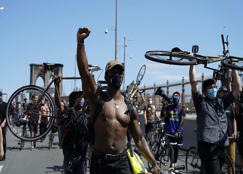 "368250_Marchas en ""Juneteenth"" / Foto: AFP"