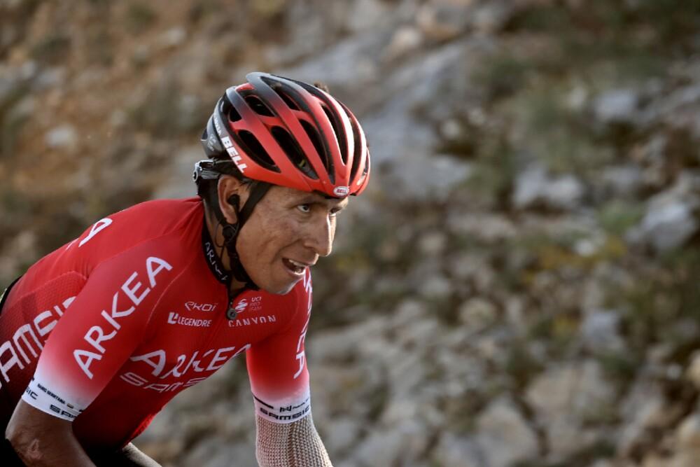 Nairo Quintana: ciclista profesional colombiano del Arkea Samsic