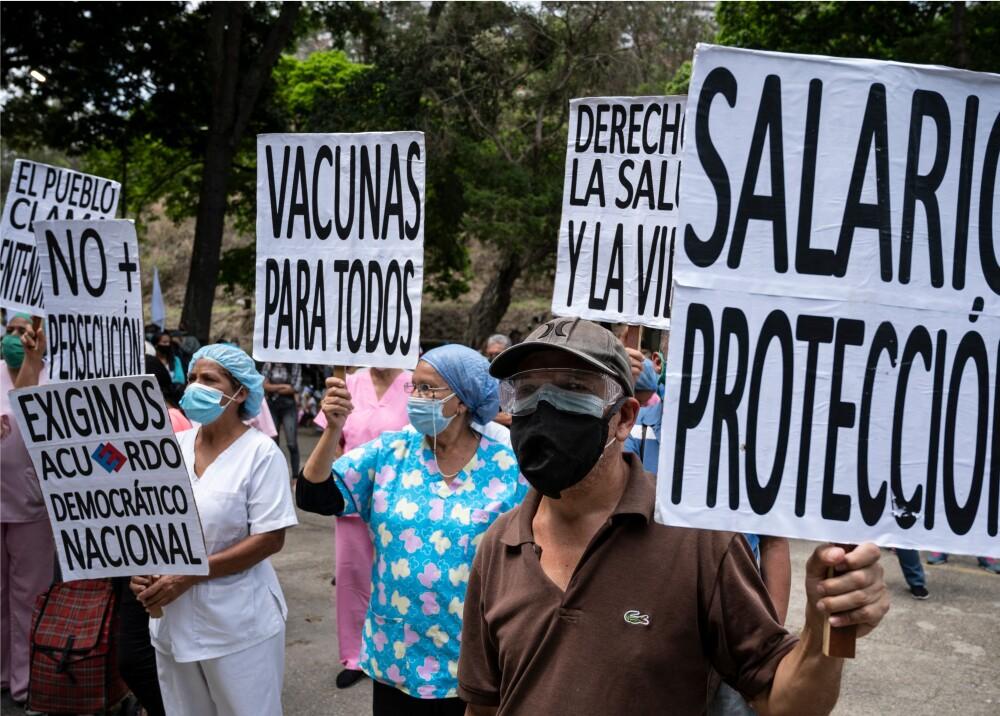 Día del Trabajo en Venezuela Foto AFP.jpg