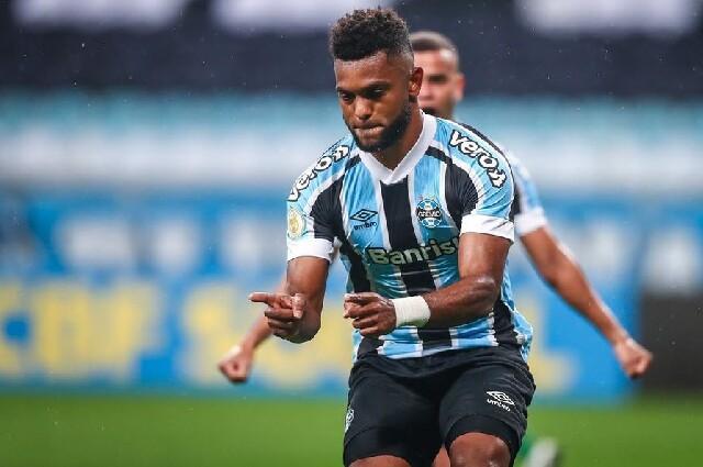 Gol de Miguel Ángel Borja, con Gremio