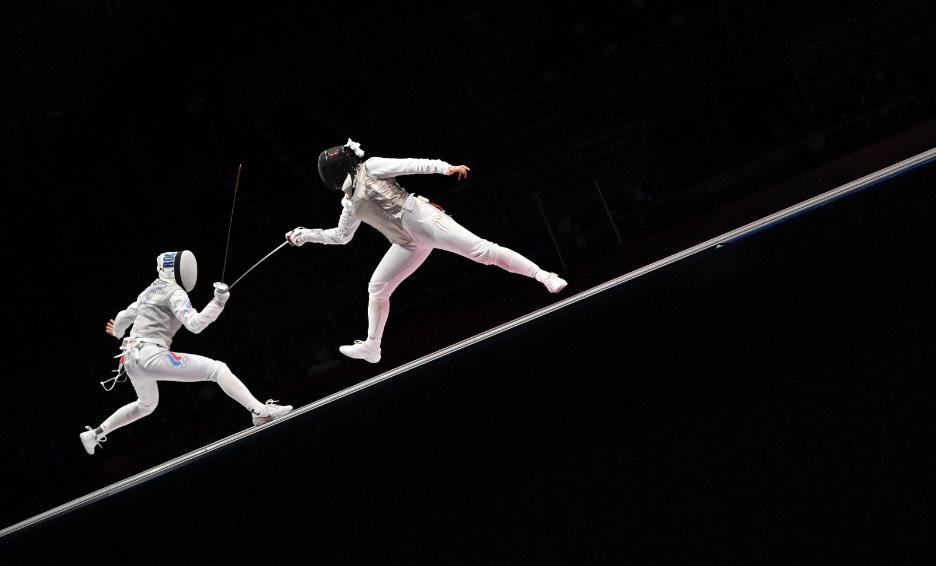 Saskia Van Erven García se despidió de los Juegos Olímpicos de Tokio 2020.