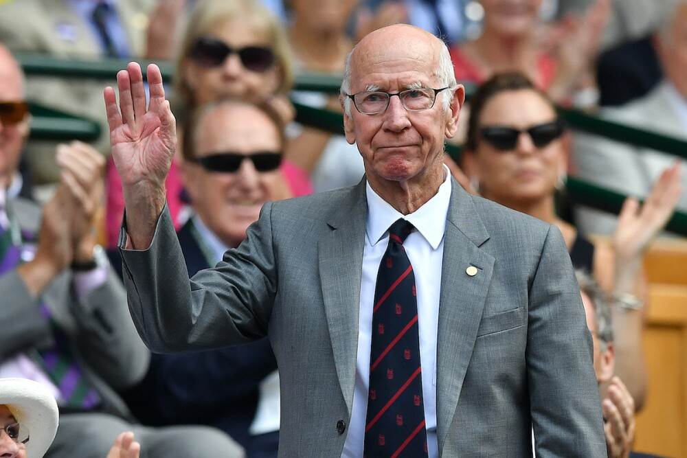 Sir Bobby Charlton / AFP