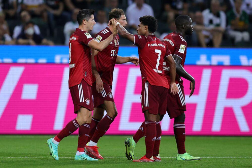 Lewandowski - Gnabry - Bayern
