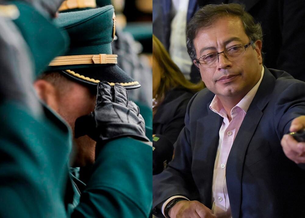 372687_Acusaciones de Petro sobre militares 'traquetos' // Fotos: AFP, imágenes de referencia