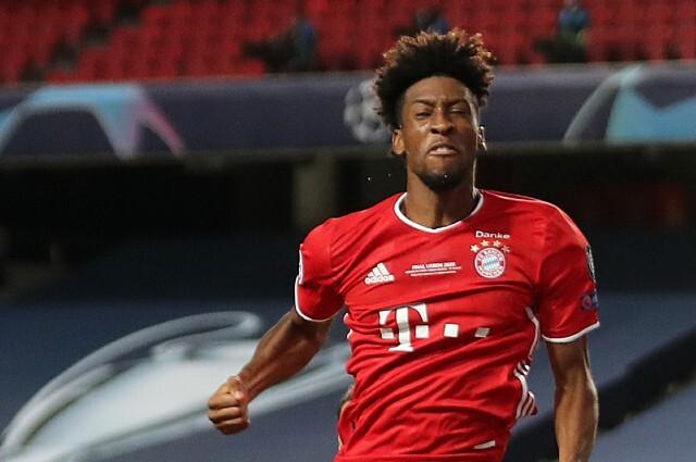 Kingsley Coman, jugador del Bayern Múnich