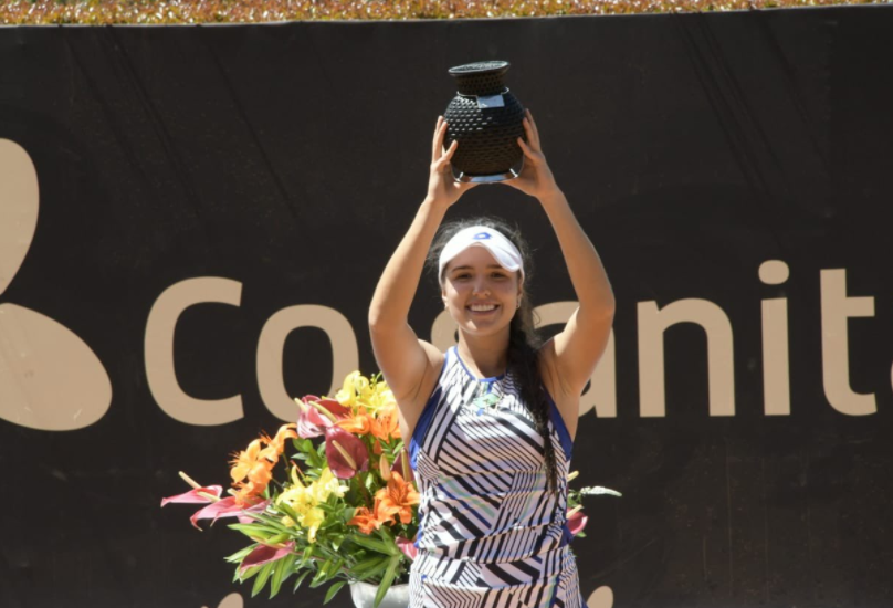 Camila Osorio se coronó campeona de la Copa Colsanitas.