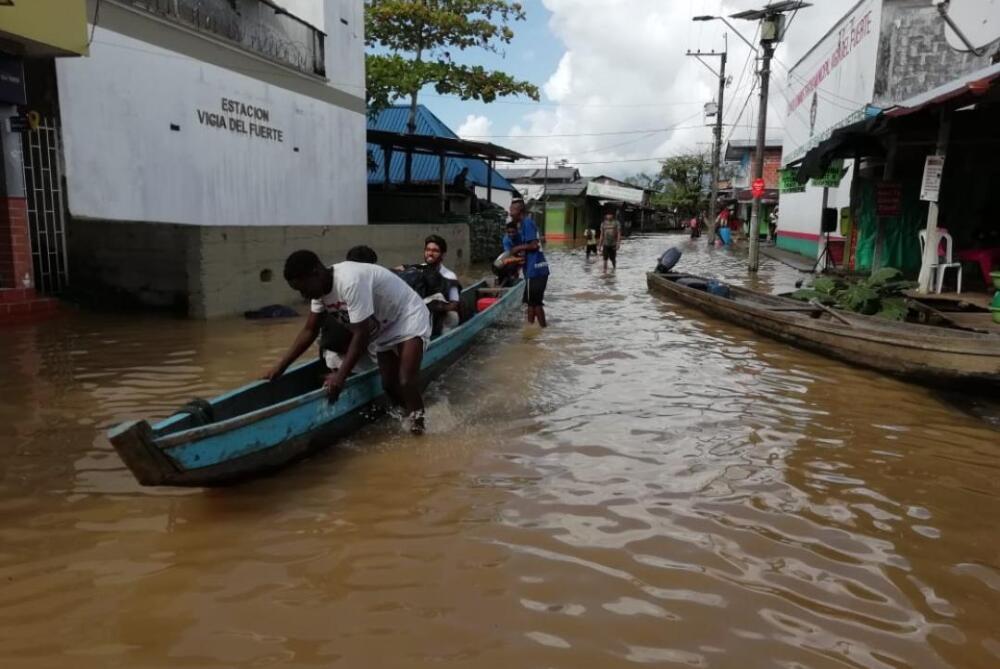 321710_Inundaciones en Vigía del Fuerte - Foto: Cortesía Dubán Vásquez y Carlos Cuestas