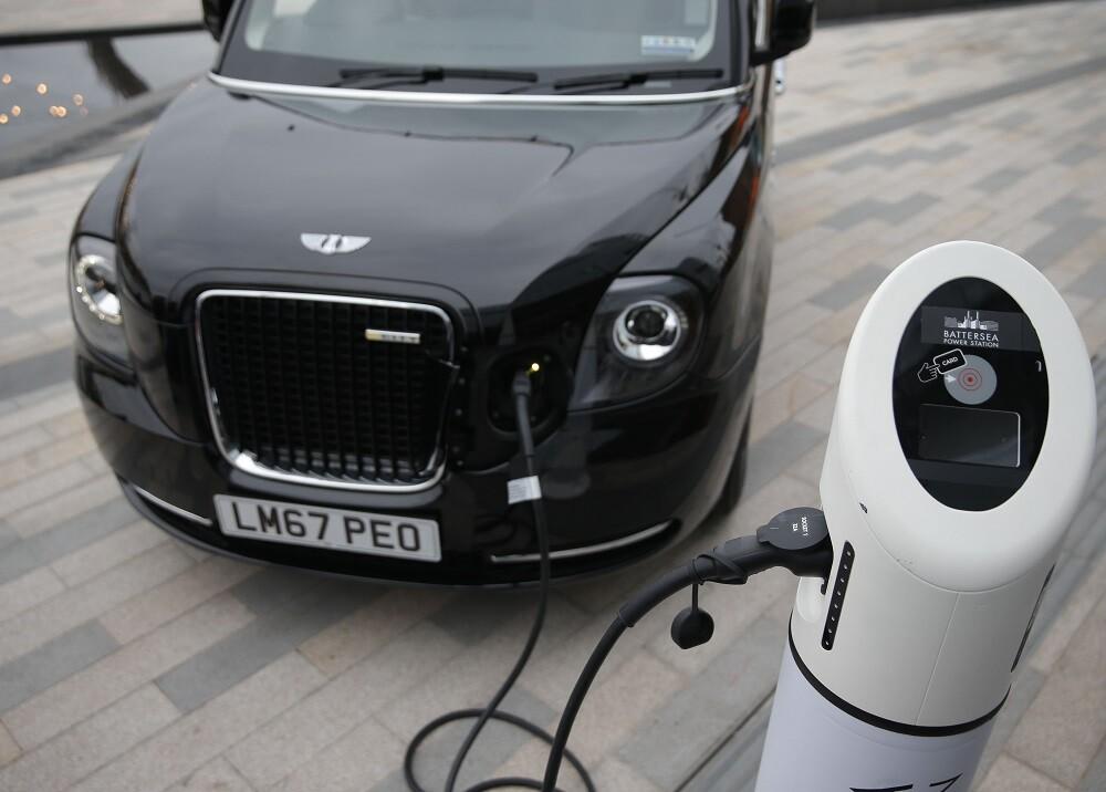 372416_Carro eléctrico. Foto. AFP