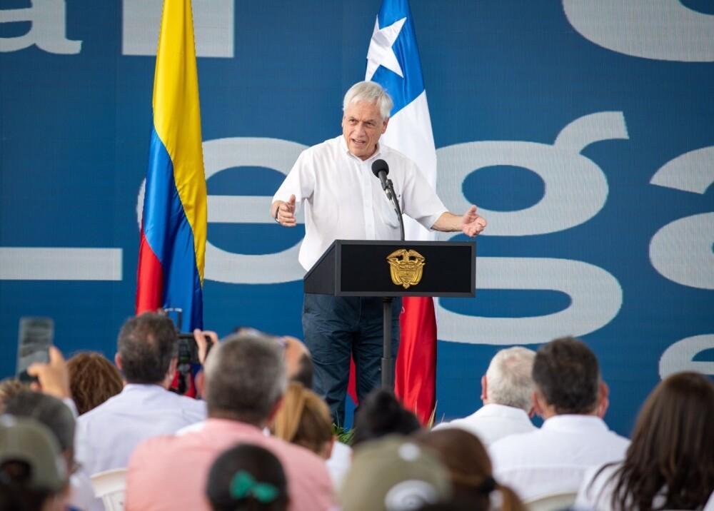 Presidente de Chile Sebastián Piñera  visitó Colombia Foto suministrada.jpg