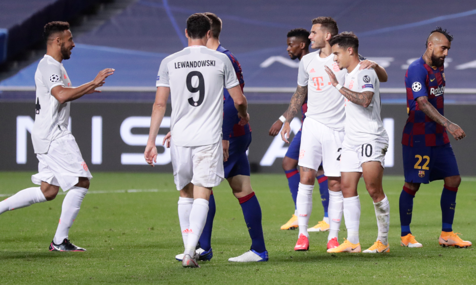 Bayern le ganó 8-2 a Barcelona en Champions.