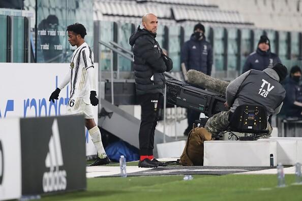 Juan Guillermo Cuadrado expulsado Juventus