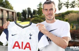 Gareth Bale, jugador de Tottenham