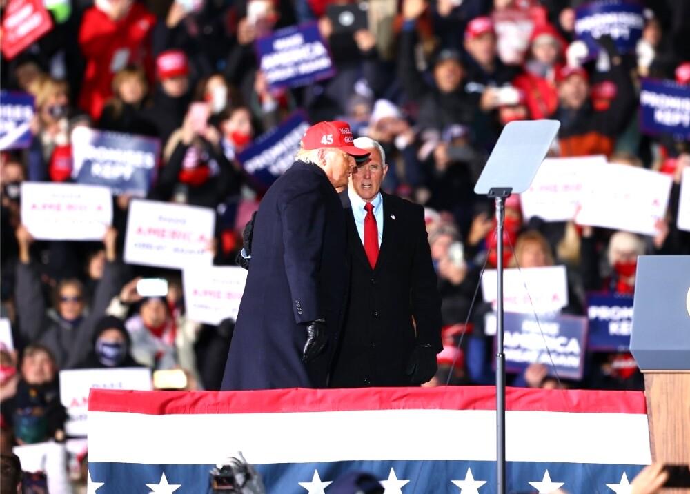 Mike Pence Donald Trump foto AFP.jpg