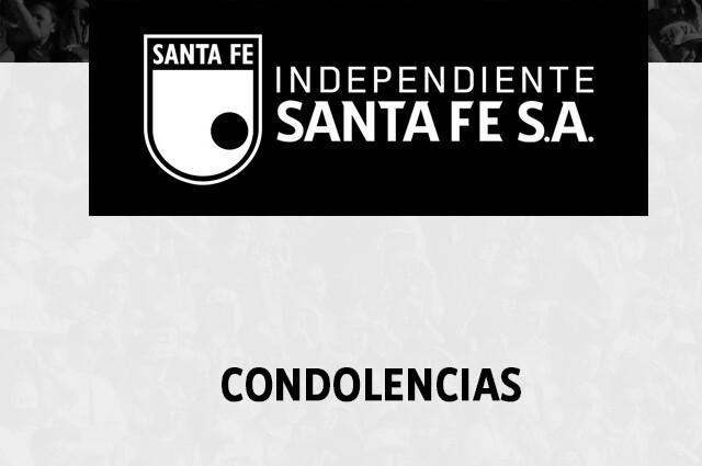Santa Fe condolencias