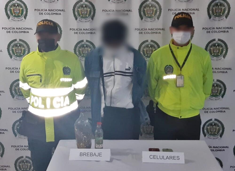 367422_El hombre engañó a las familias de las víctimas con falsas promesas. / Foto Policía Antioquia