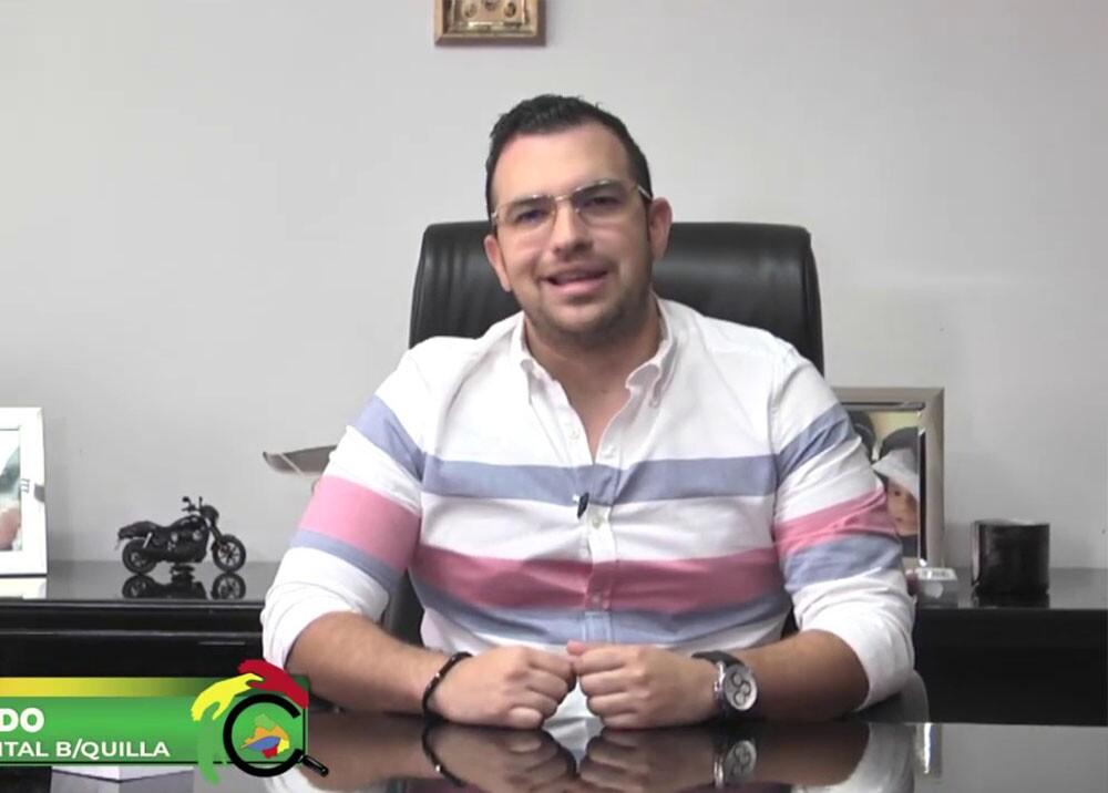 372299_BLU Radio // Excontralor de Barranquilla, Jesús Acevedo // Foto: Contraloría de Barranquilla
