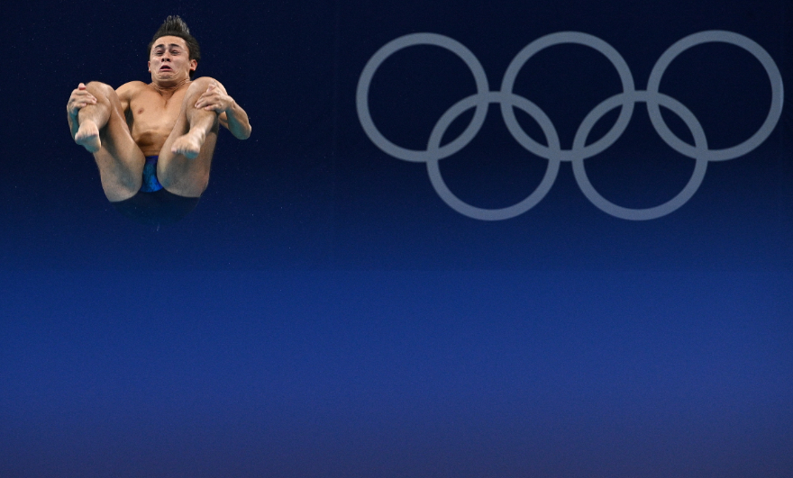 Daniel Restrepo fue 17 en la semifinal de los clavados trampolín de tres metros de los Juegos Olímpicos Tokio 2020.