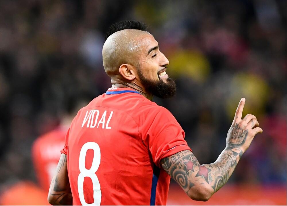 9038_La Kalle - Arturo Vidal y sus insultos contra Ronaldo y el Real Madrid - Foto AFP