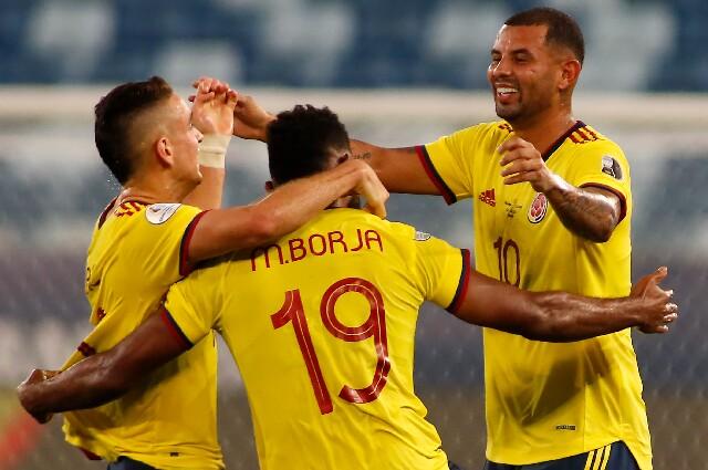 Gol de la Selección Colombia contra Ecuador