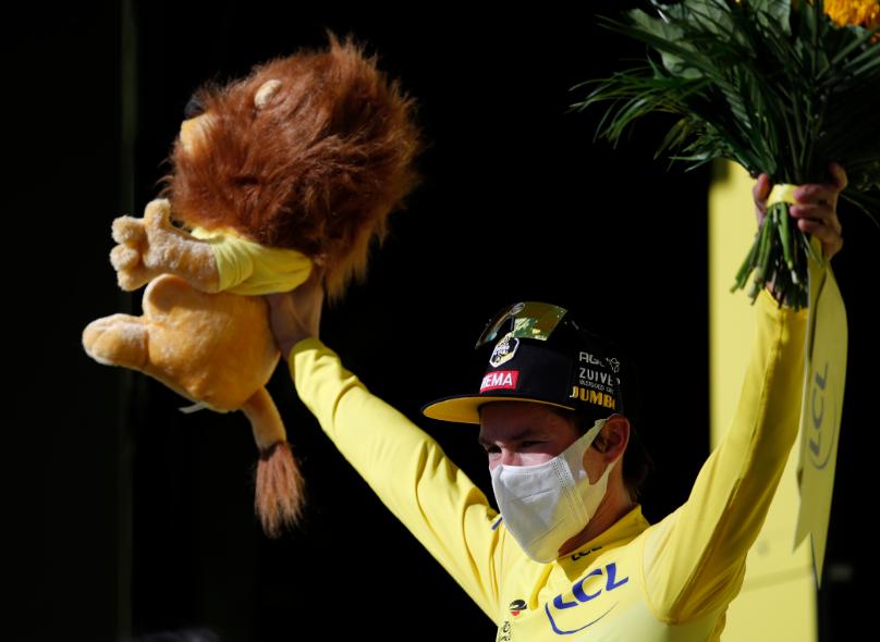Primoz Roglic, líder del Tour de Francia 2020