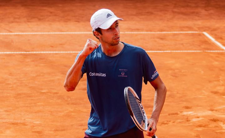 Daniel Galán clasificó a octavos de final del ATP 250 de Múnich.